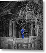 Monk And Bell Metal Print