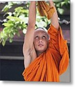 Monk In The Bell Tower #2 Metal Print