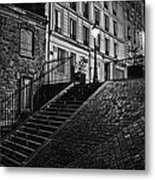 Montmartre After Dark Metal Print