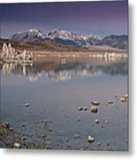 Mono Lake Panorama Metal Print