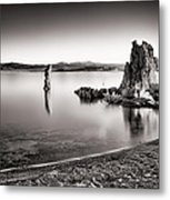 Monochromatic Mono Lake Sunrise Metal Print