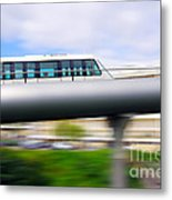 Monorail Carriage Metal Print