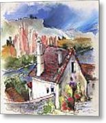 Monpazier In France 05 Metal Print