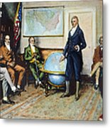 Monroe Doctrine, 1823 Metal Print