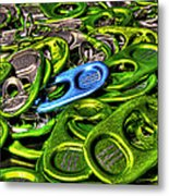 Monster Can Tabs Detroit Mi Metal Print
