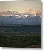 Montana Sunrise Metal Print