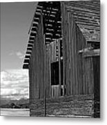 Montana Weathered Barn Metal Print