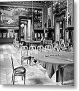 Monte Carlo - Gambling Hall - C 1900 Metal Print