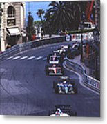 Monte Carlo Casino Corner Metal Print