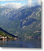 Montenegro's Black Mountains Metal Print