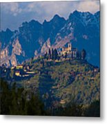Montevecchia And Resegone Metal Print