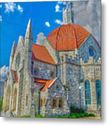Montgomery Baptist Church Hdr Metal Print