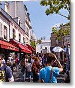 Montmartre Artist Colony Metal Print