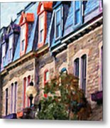 Montreal Architecture Metal Print