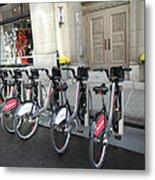 Montreal Bicycles Metal Print