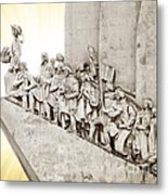 Monument To Discoveries Metal Print