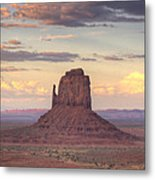 Monument Valley - East Mitten Butte Metal Print