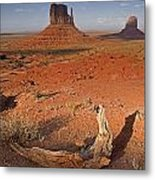 Monument Valley, Kayenta, Arizona, Usa Metal Print