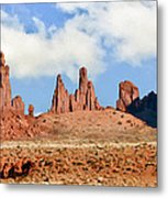 Monument Valley Totem Pole Metal Print
