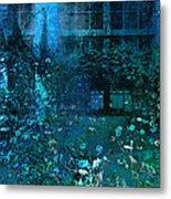 Moonlight In The Garden Metal Print