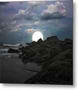 Moonlight Tonight Metal Print by Tom York Images