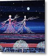 Moonlove Dance Metal Print