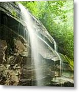 Moore Cove Falls Metal Print