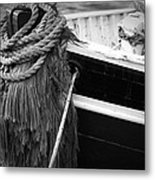 Moored Metal Print by Eric Gendron