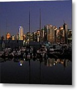 Moored For The Night Metal Print