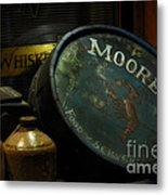 Moore's Tavern After Closing Metal Print by Mary Machare