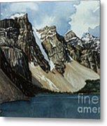 Moraine Lake Metal Print by Scott Nelson