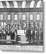Moravians, 1757 Metal Print