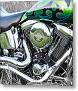 More Chrome 2 Metal Print
