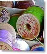 More Loose Threads Metal Print