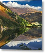 morning by Llyn Gwynant Metal Print