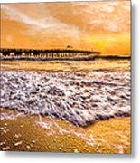 Morning Gold Rush Metal Print