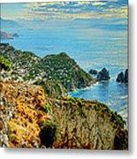 Morning In Capri Metal Print