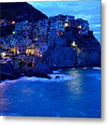 Morning In Manarola Metal Print by Barbara Walsh