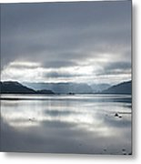 Morning Light On The Loch Metal Print
