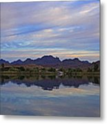 Morning Light On The River Metal Print