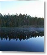 Morning Mist At Haukkajarv Metal Print