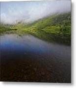 Morning Mist Over Gougane Barra Lake Metal Print