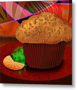 Morning Muffin Metal Print by Melisa Meyers