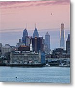 Morning On The Delaware River Metal Print