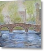 Morning On The Meuse Metal Print