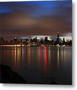 Morning Over Midtown - New York  Metal Print