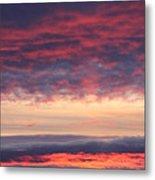 Morning Sky Portrait Metal Print