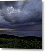 Morning Squall Metal Print