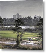 Morning Tee Metal Print