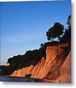 Morning View Of The White Cliffs Metal Print